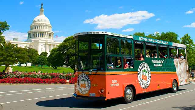 Trolley Tour in DC