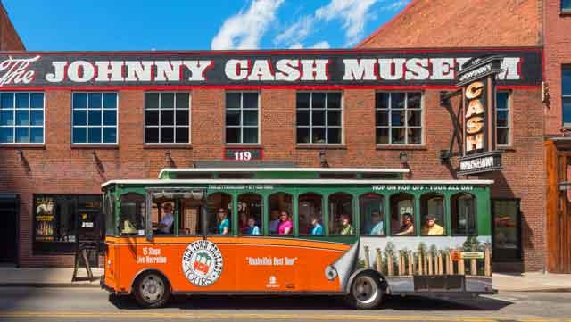 Trolley Tour in Nashville