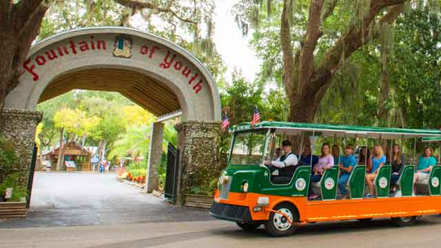 Trolley Tour in St. Augustine