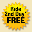 ride second day free