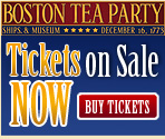 boston tea party ships tickets on sale now