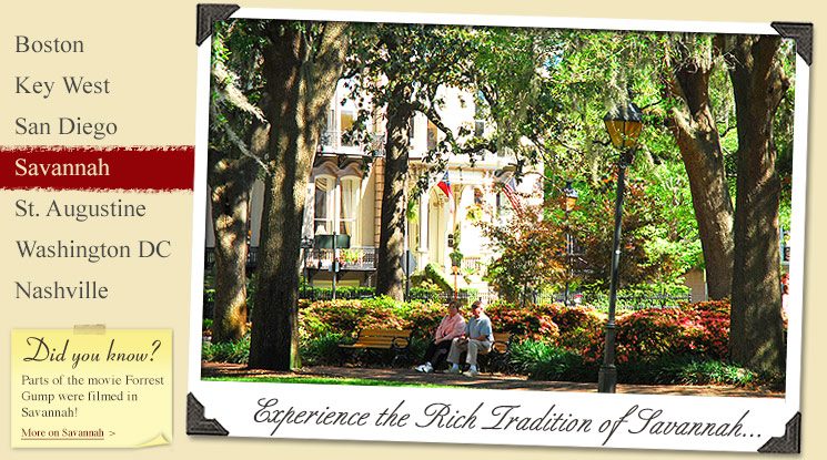 Image of Historic Attractions in Savannah