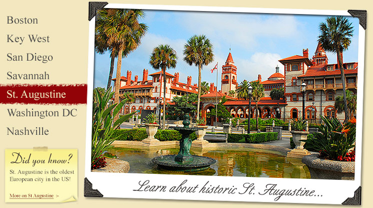 Image of Historic St. Augustine Attractions