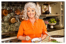 paula deen and trolley conductor