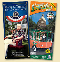 cover of Truman and trolley brochures