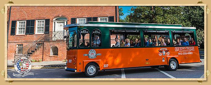 Savannah Historic Trolley Tour