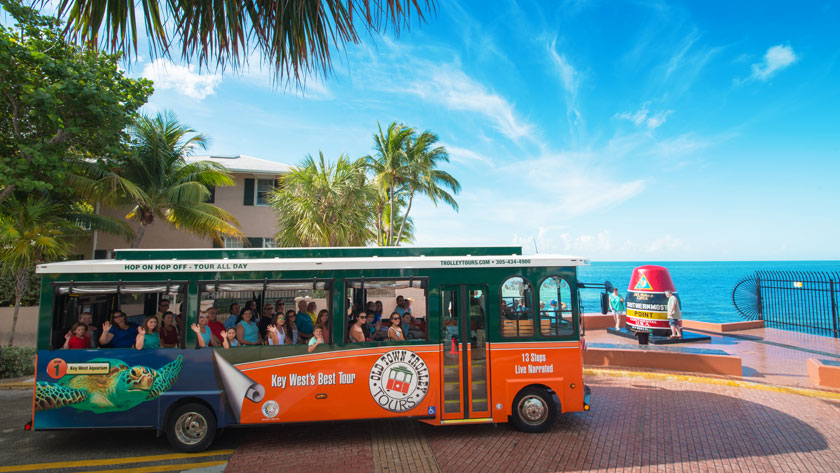 Key West Trolley Tours Southernmost Stop