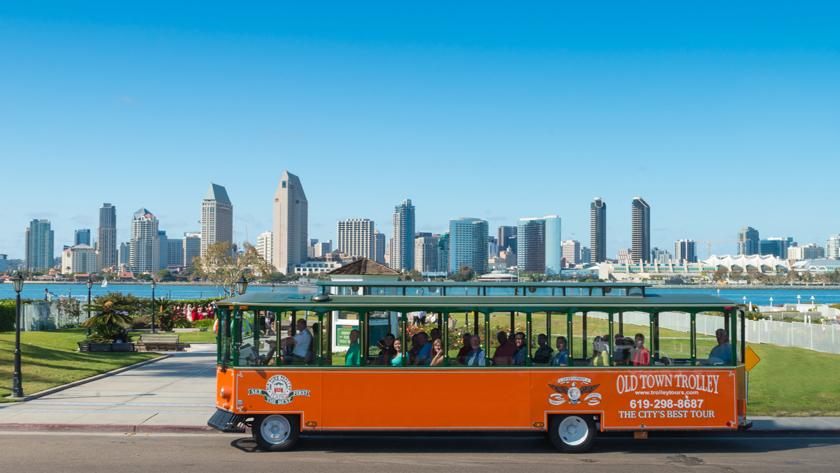 San Diego Old Town Trolley Seal Tour
